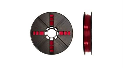 Immagine di Makerbot PLA Filament Large Translucent Red - Art. MP05762