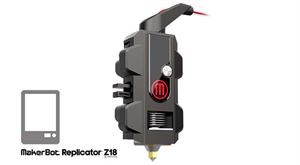 Picture of MakerBot Smart Extruder+ per Replicator Z18 - Art. MP07376
