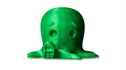 Immagine di Makerbot PLA Filament Small Translucent Green - Art. MP05761