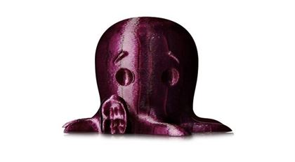 Immagine di Makerbot PLA Filament Small Translucent Purple - Art. MP05769