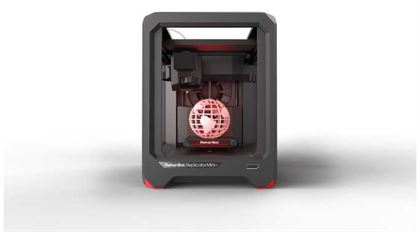 Immagine di Makerbot Replicator Mini+ 3D Printer - Art. MP07925EU