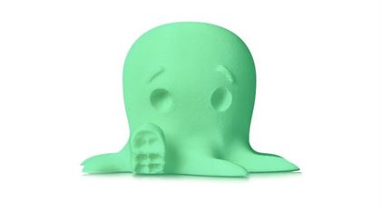 Immagine di Makerbot PLA Filament Small Glow in the Dark - Art. MP05795