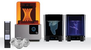 Picture of FORM 2 Desktop 3D printer COMPLETE package - Art. F2-WS-EGB