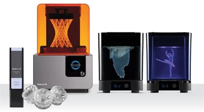 Immagine di FORM 2 Desktop 3D printer COMPLETE package - Art. F2-WS-EGB