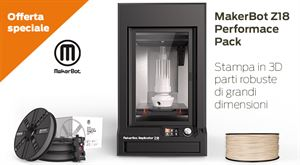 Picture of Makerbot Replicator Z18 PERFORMANCE PACK - Art. MP05950-PPACK