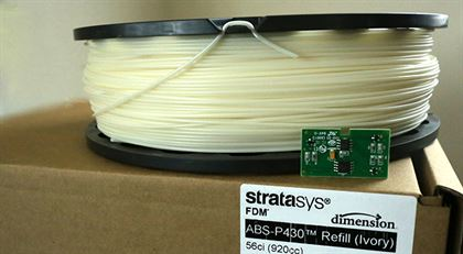 Immagine di Stratasys ABS in-a-bag Refill - Ivory - Art. 340-41200
