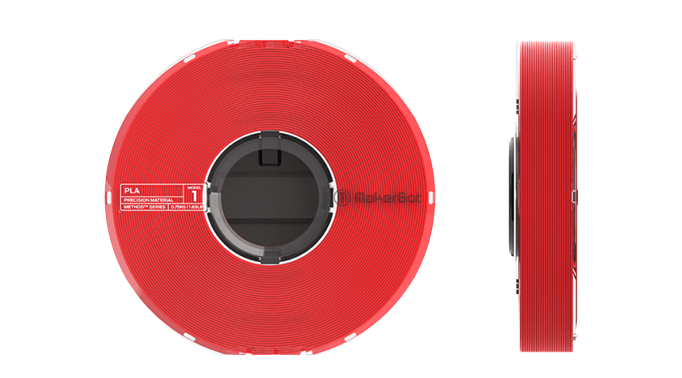 Immagine di Makerbot Precision PLA Filament True Red - Art. 375-0018A