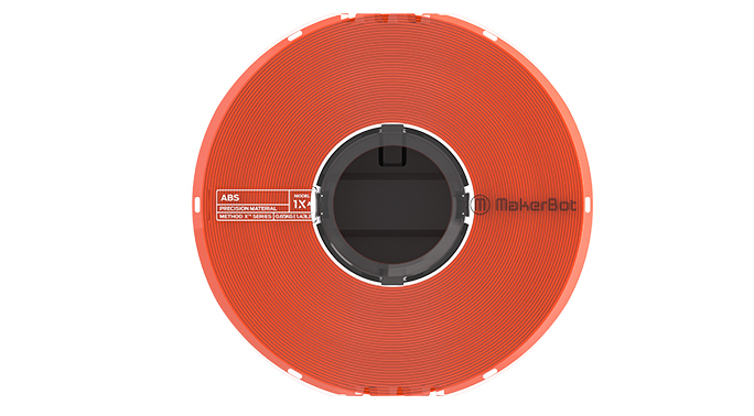 Immagine di Makerbot Precision ABS Filament Orange - Art. 375-0022A