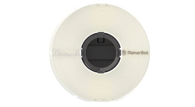 Immagine di Makerbot Precision ABS Filament Natural - Art. 375-0021A