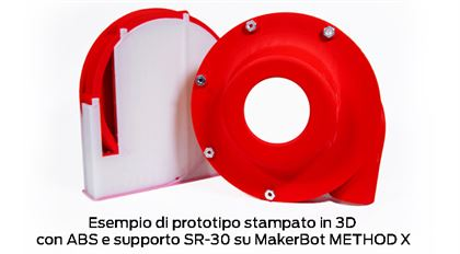 Immagine di Makerbot SR-30 Soluble Support Filament - Art. 375-0015A
