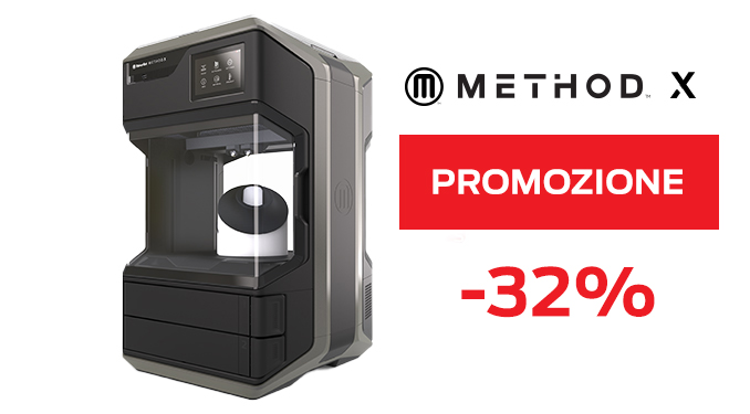 Immagine di PROMO | MakerBot Method X stampante 3D - Art. 900-0002A-PRO20E