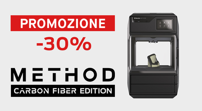 Immagine di PROMO | MakerBot Method CARBON FIBER 3D PRINTER - Art. 900-0073A-PRO20E