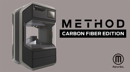Immagine di MakerBot Method CARBON FIBER 3D PRINTER - Art. 900-0073A